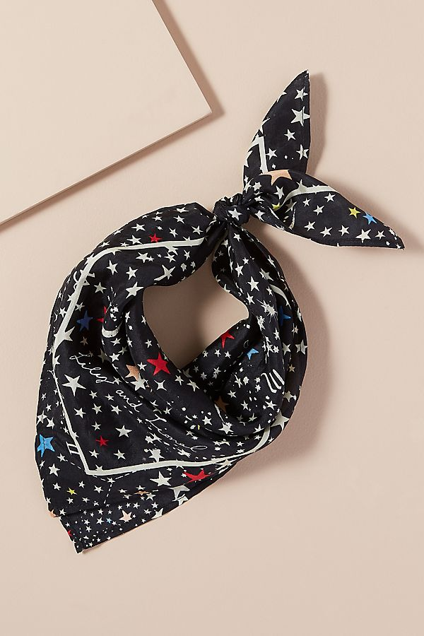 Constellation Silk Scarf by Lily And Lionel