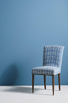 Elza Indigo Dining Chair by Anthropologie