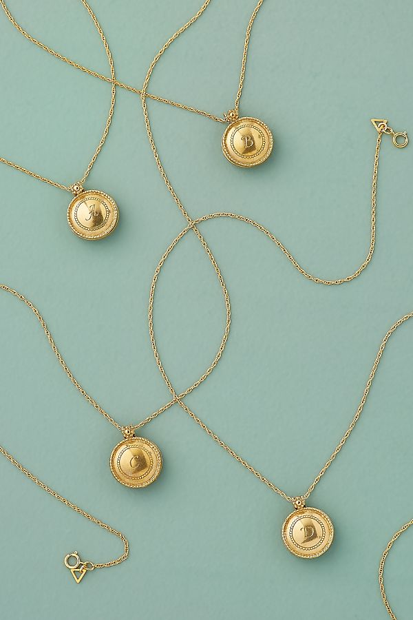 Nagle And Sisters X Anthropologie Locket by Nagle And Sisters