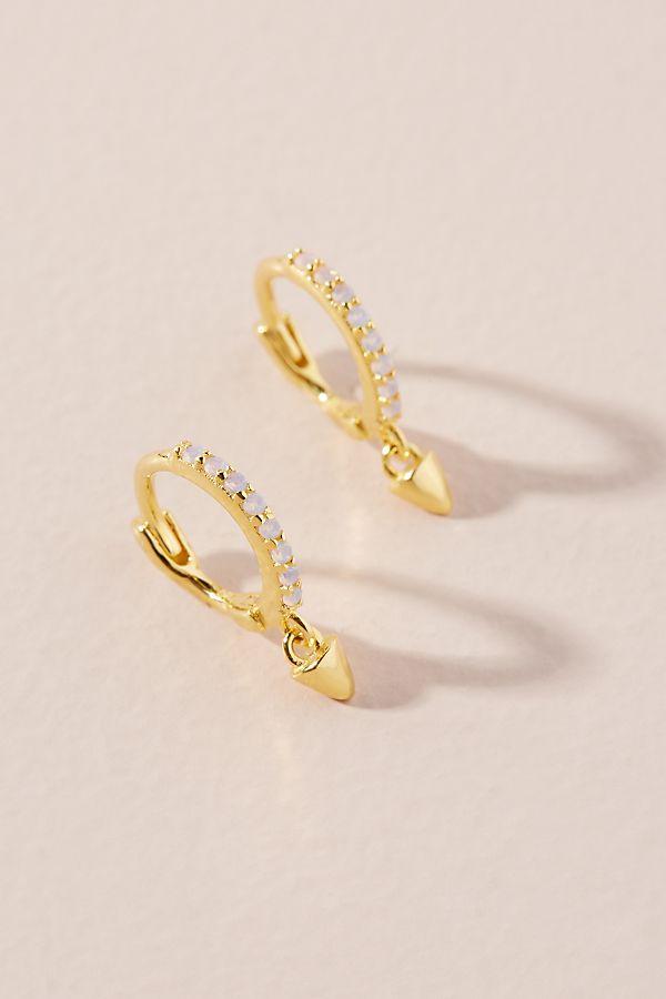Astrid & Miyu Mystic Spike Hoop Earrings by Astrid & Miyu
