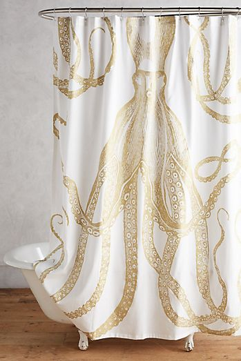 Gold Unique Modern Boho Shower Curtains Anthropologie