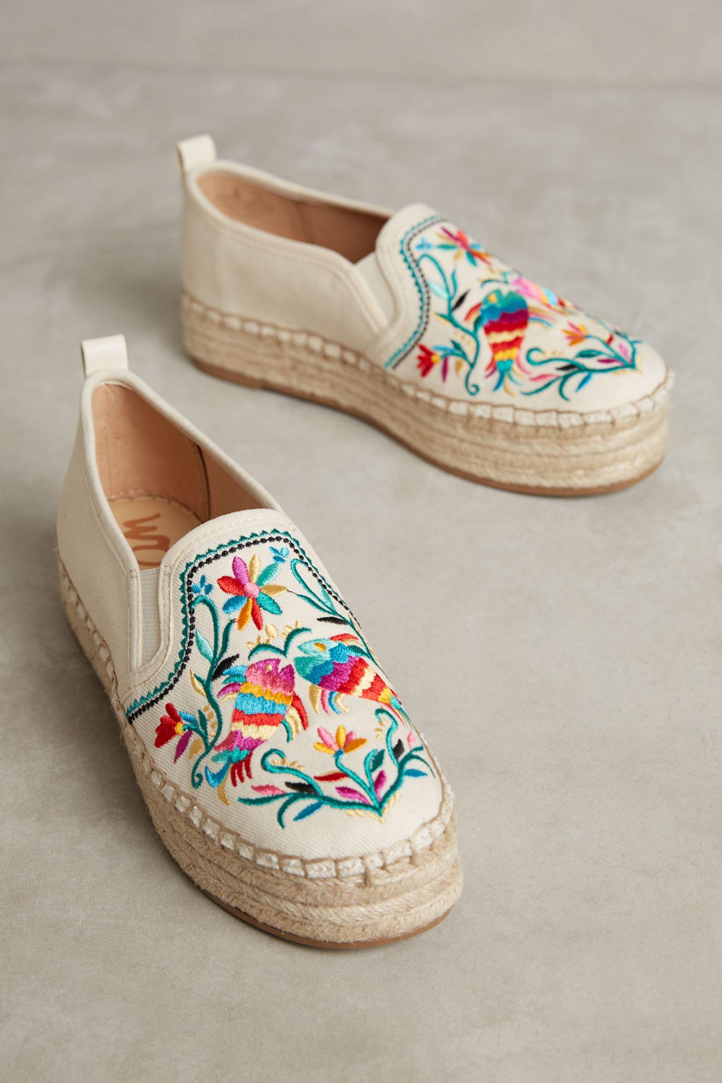 5ef3e31a379e Sam Edelman Embroidered Carrin Espadrilles