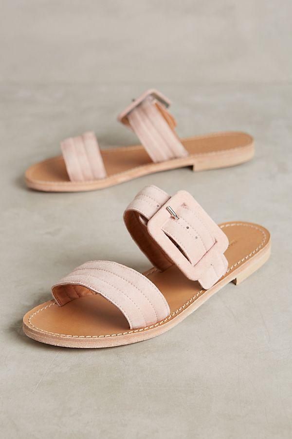 756e8deaf6d5 Morena Gabbrielli Quilted Slide Sandals