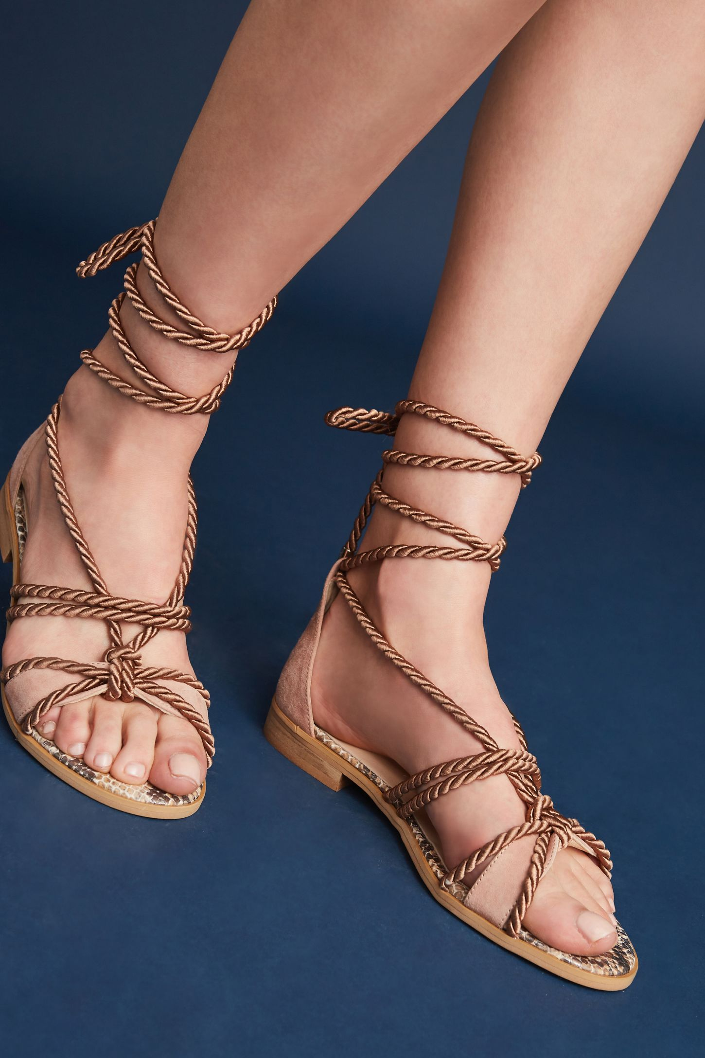 2798dbac54d Elysess Rope Gladiator Sandals