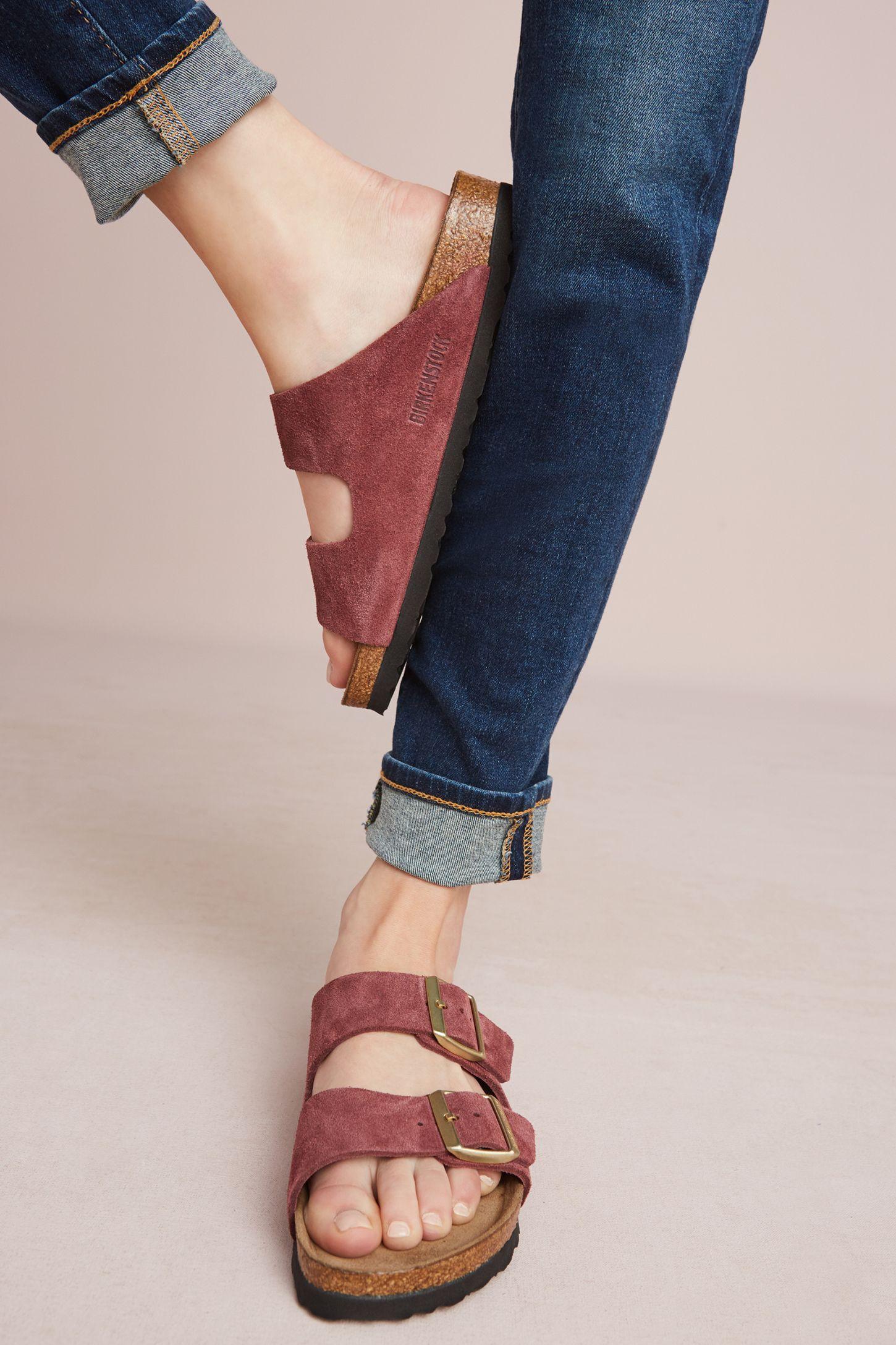 7886e962225e Birkenstock Bordeaux Arizona Sandals