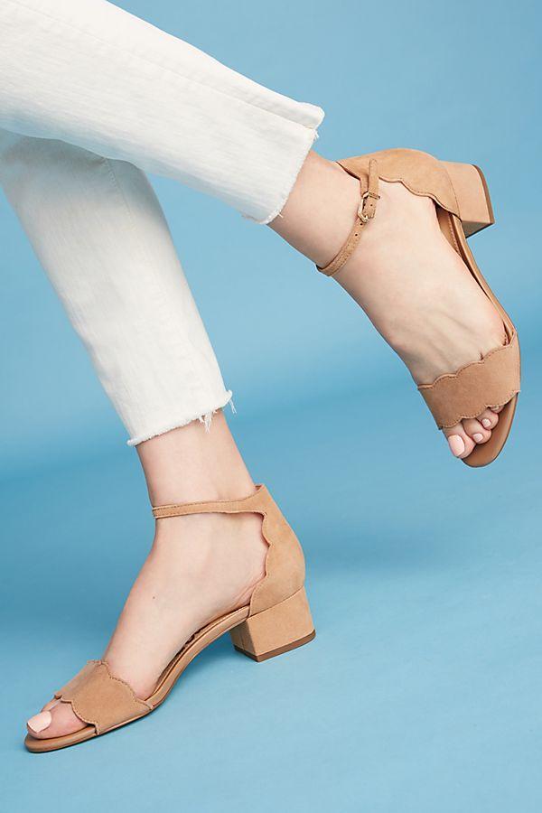 85115997dbe Sam Edelman Scalloped Block Heels