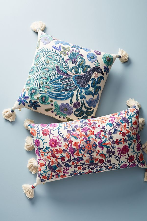 Home Decor | Embroidered pillow