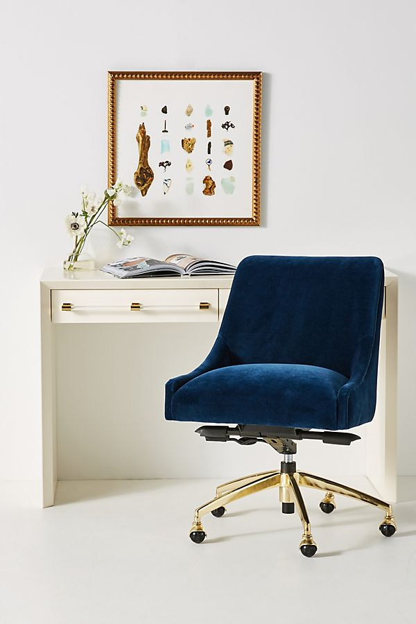 Slide View: 1: Elowen Swivel Desk Chair