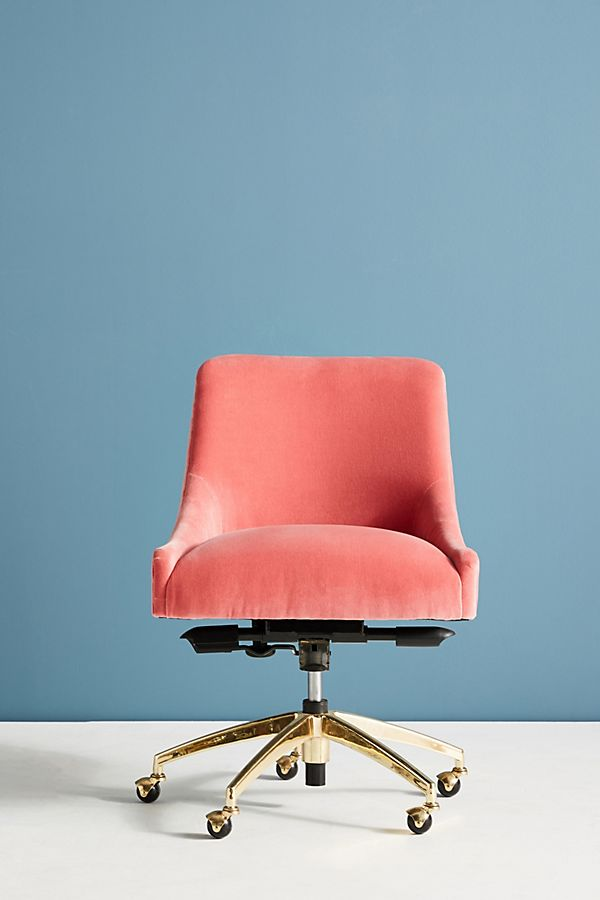 Phenomenal Elowen Swivel Desk Chair Anthropologie Andrewgaddart Wooden Chair Designs For Living Room Andrewgaddartcom