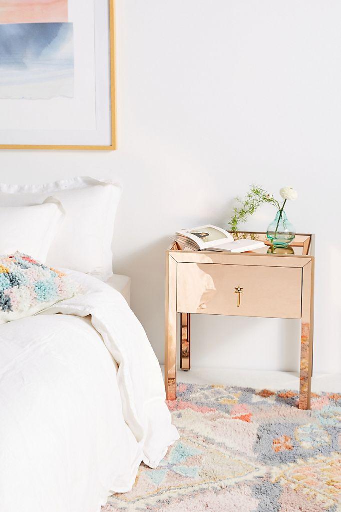 gracemere mirrored nightstand