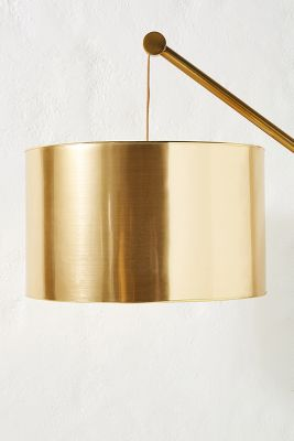 Metallic Lamp Shade Anthropologie