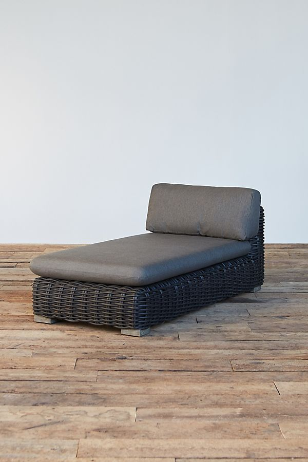 Slide View 1 Modular Lounge All Weather Wicker Chaise