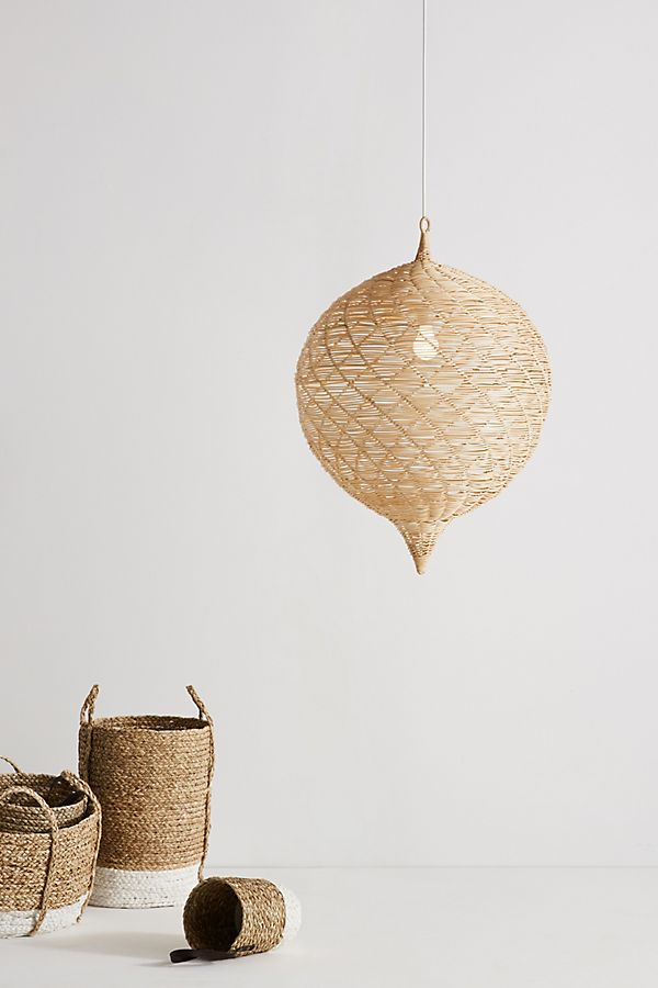 Anthropologie light fixture