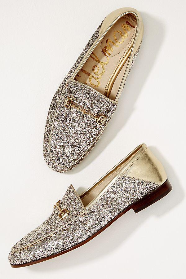 928d00f81bd362 Sam Edelman Becca Glitter-Embellished Loafers