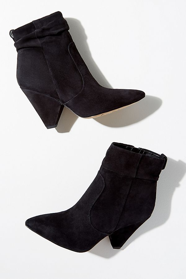 1f373d65b760 Sam Edelman Point-Toe Suede Ankle Boots
