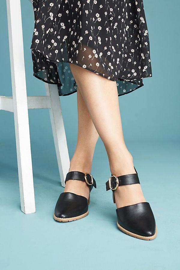 9d347c23dbd All Black Strap Heels
