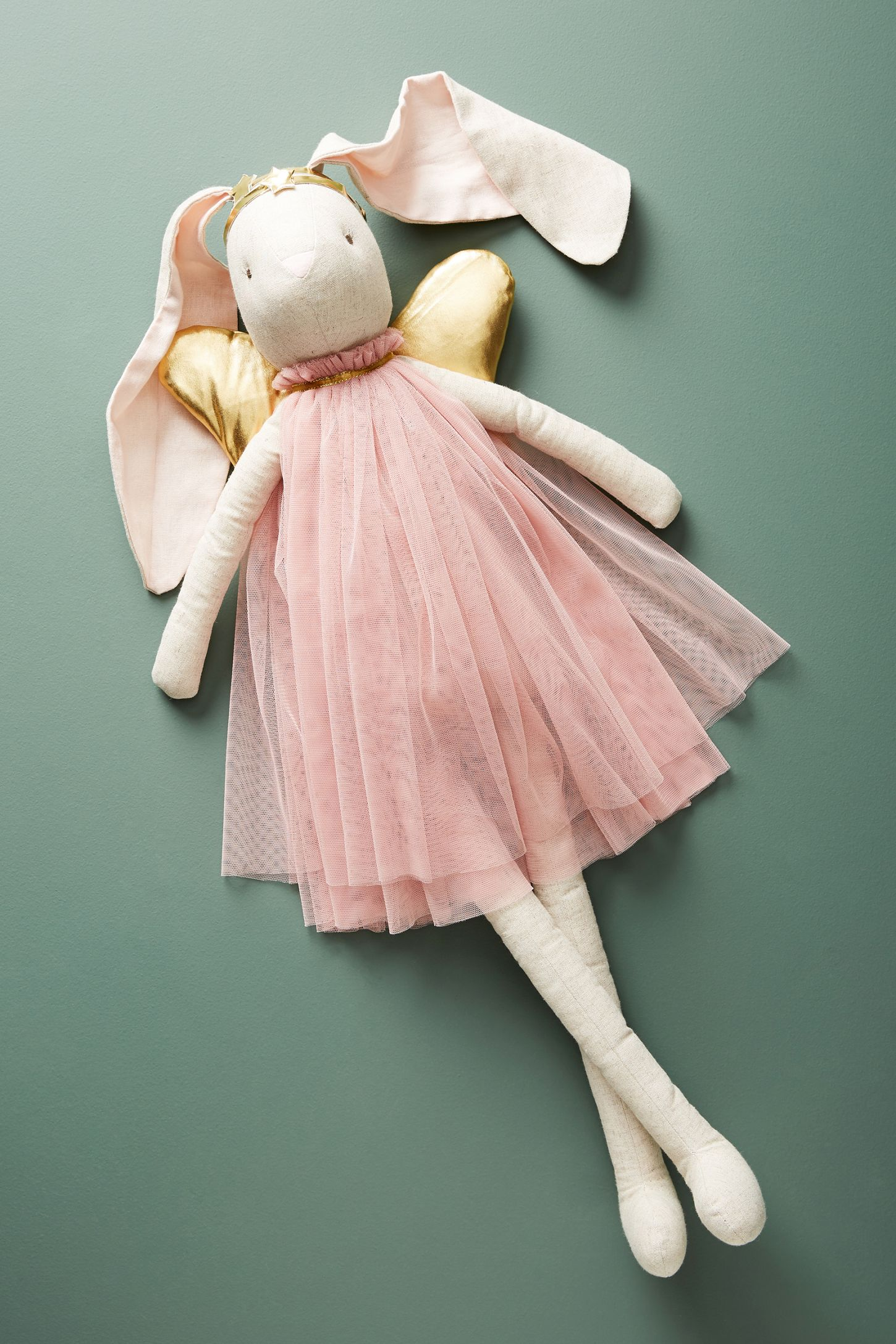 374b112a Winged Bunny Doll   Anthropologie