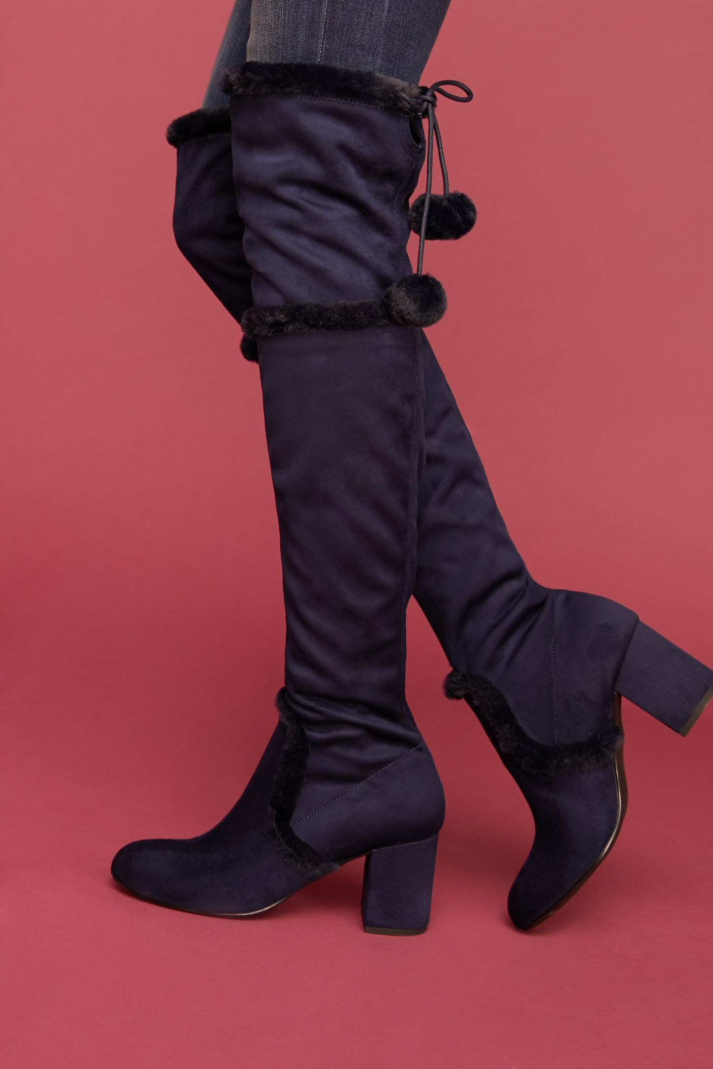 f0442c996f539 Charles David Odom Over-The-Knee Boots. Tap image to zoom. Hover your mouse  over an image to zoom. Double Tap to Zoom