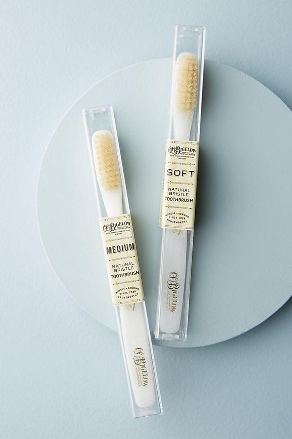 Natural Bristle Makeup Brushes: C.O. Bigelow Natural Bristle Toothbrush