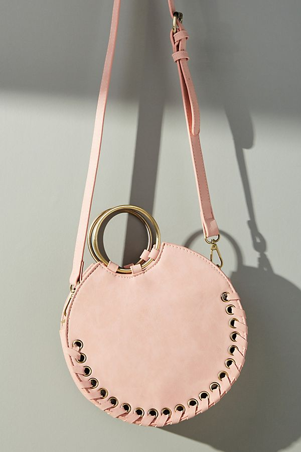d8e88a38a5 Stitched Circular Crossbody Bag