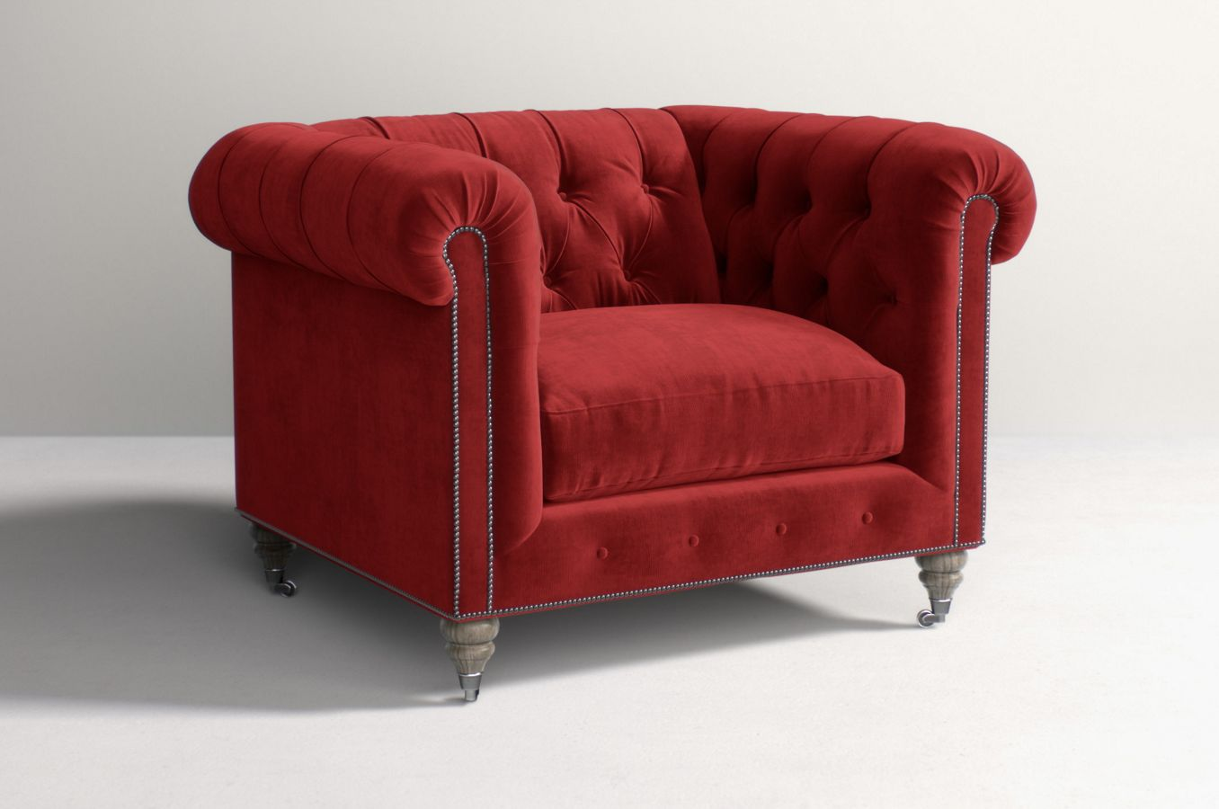 Lyre Chesterfield Chair Anthropologie