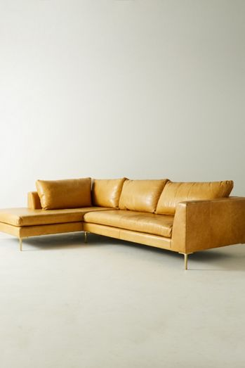 Leather Furniture Sectionals Sofas More Anthropologie