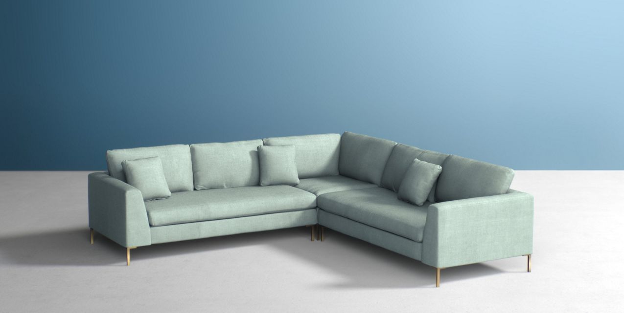 Edlyn L-Shaped Sectional | Anthropologie