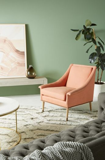Custom Fabric Accent Chairs.Custom Chairs Custom Upholstered Accent Chairs Anthropologie