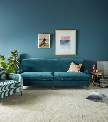 Glenlee Two Cushion Sofa Anthropologie