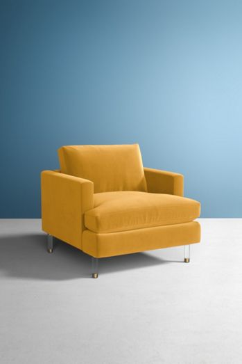Bowen Chair, Lucite Leg