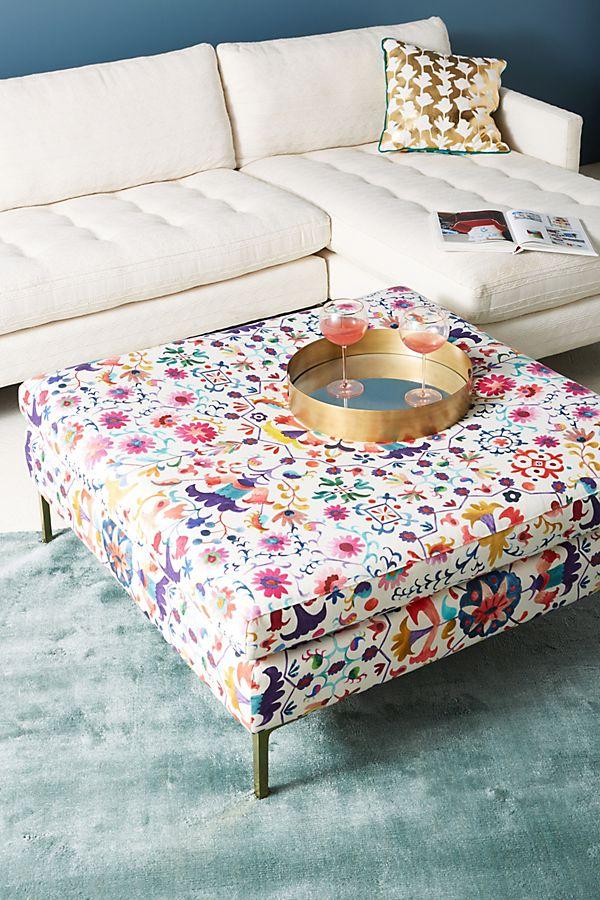 Marvelous Badia Printed Edlyn Cocktail Ottoman Ncnpc Chair Design For Home Ncnpcorg