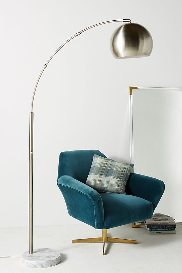 Miraculous Silver Actoria Arc Floor Lamp Theyellowbook Wood Chair Design Ideas Theyellowbookinfo