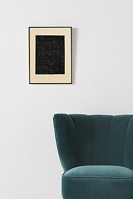 Black Glitter Wall Art Anthropologie