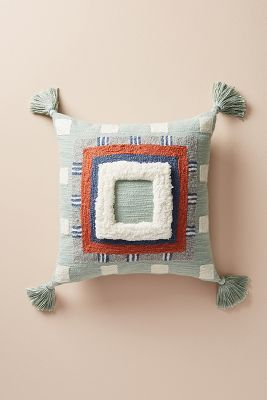 Coussin Touffeté Rayas by Anthropologie