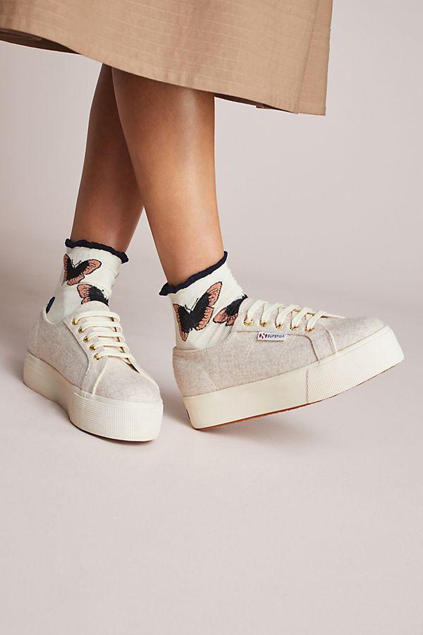 6ca8f53698a1 Superga 2790 Polywool Platform Sneakers