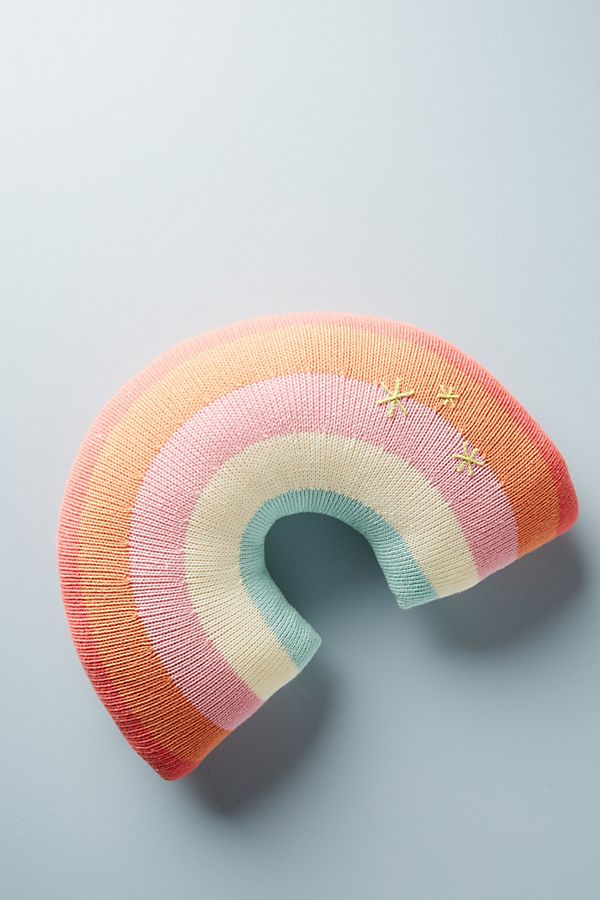 Slide View: 1: Rainbow Pillow