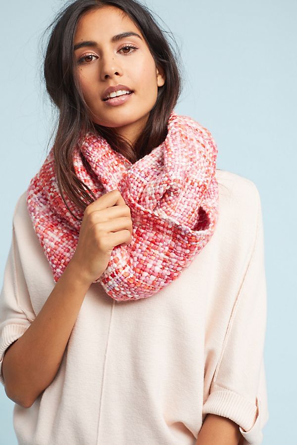 48401da1ce6e5 Plaid Shimmer Infinity Scarf | Anthropologie