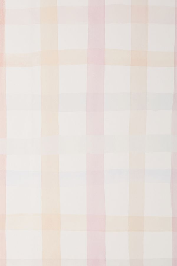 Slide View: 2: Anthropologie Maria Gingham Wallpaper