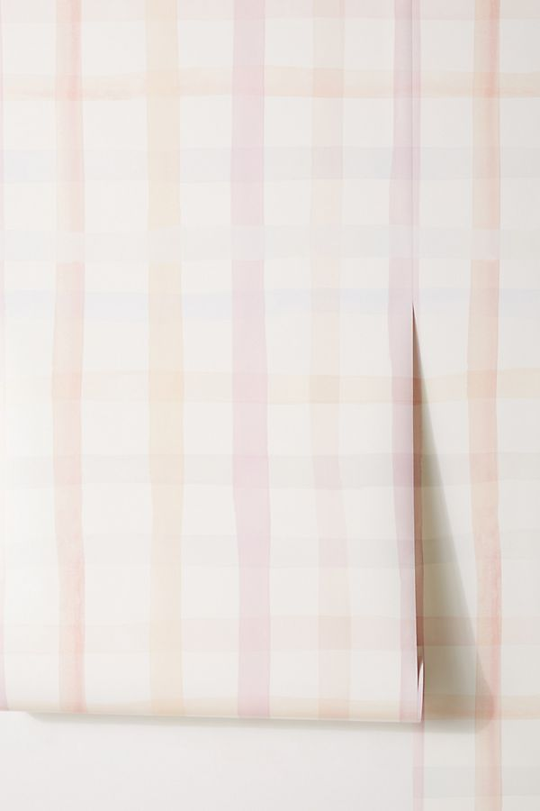 Slide View: 3: Anthropologie Maria Gingham Wallpaper