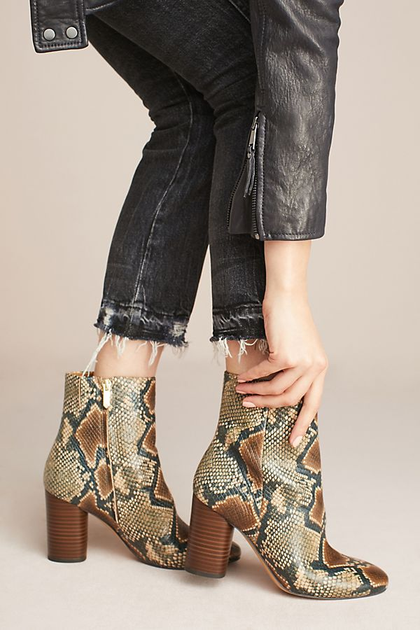 20e85ace2428 Sam Edelman Corra Snake Ankle Boots