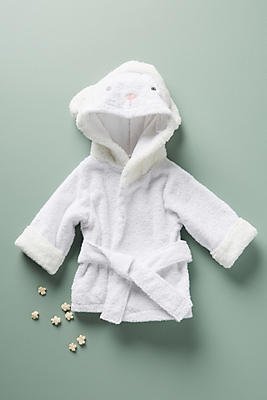 Forest Friends Hooded Robe by Anthropologie