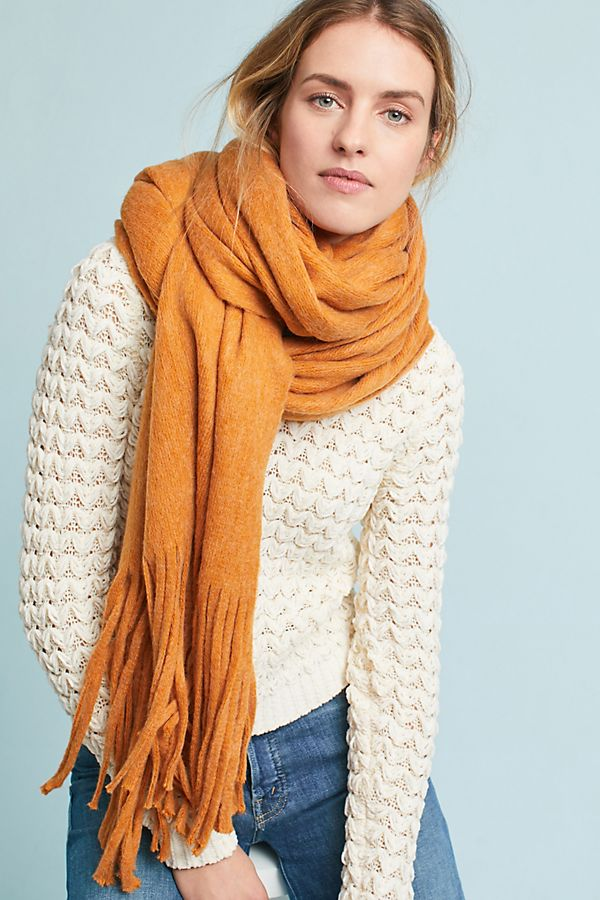 4f2518d7ee257 Fringed Wrap Scarf | Anthropologie