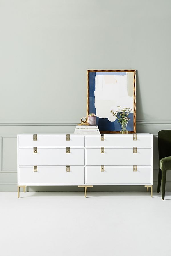 Slide View: 1: Ingram Six-Drawer Dresser