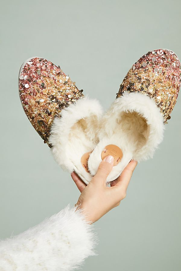 d1c014c802631 Ombre Sequin Slide Slippers