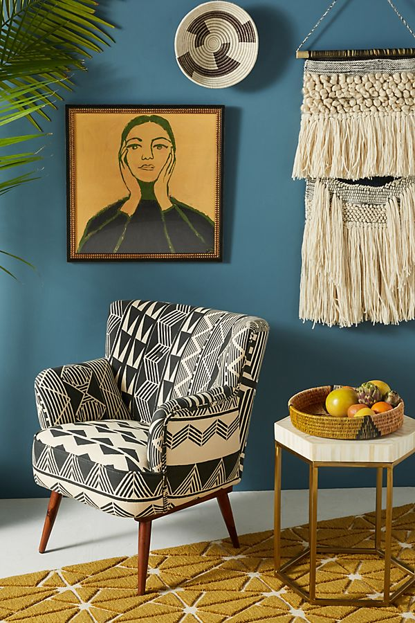 Slide View: 8: Ulla Petite Accent Armchair