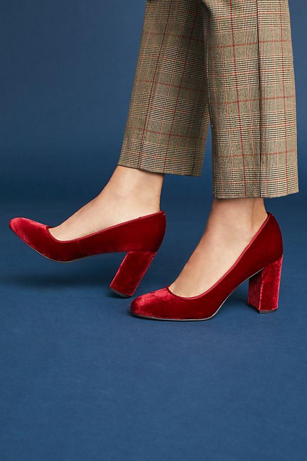 5416e0be7c3 Sarto by Franco Sarto Aziza Velvet Heels