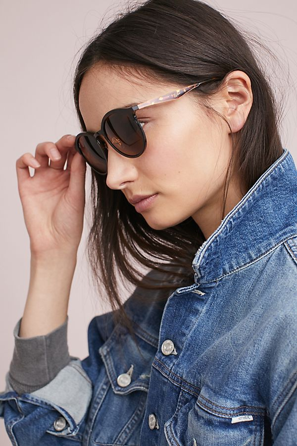 6241303f5 Ray-Ban Emma Round Sunglasses | Anthropologie