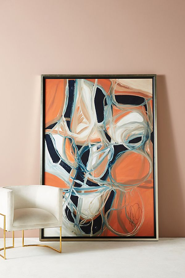 Slide View: 1: Intersecting Thoughts Wall Art