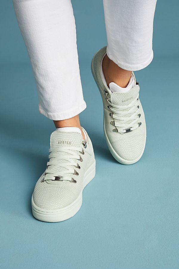 9655a36674c2d5 Nubikk Lizard-Printed Sneakers