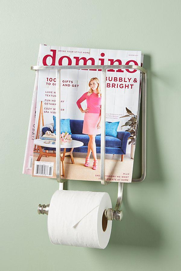 Slide View: 1: Magazine And Toilet Paper Holder